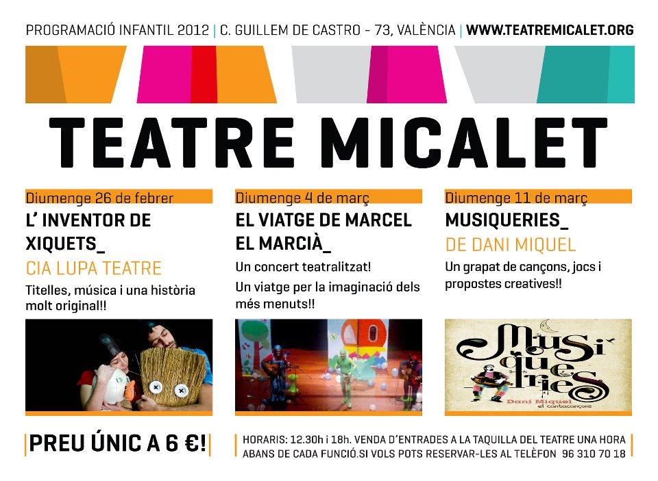 Teatre infantil al Micalet